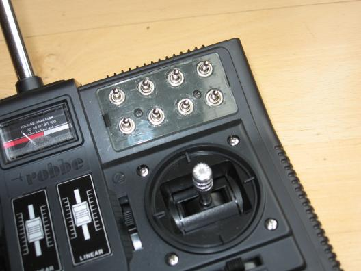 F-14 Sender mit eingebautem Multiswitch-Encoder
