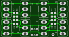Leiterplatte 16-Kanal Multiswitch Encoder F-14