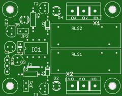Leiterplatte 2K RC Schalter